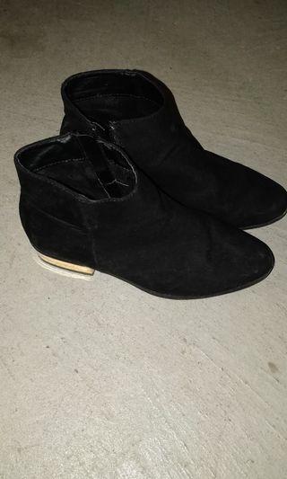 Gold Heel Boot