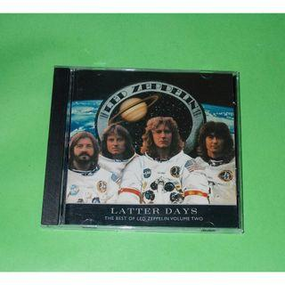 CD LED ZEPPELIN : LATTER DAYS . THE BEST OF LED ZEPPELIN VOL 2 ALBUM (2000) JIMMY PAGE BLUES ROCK