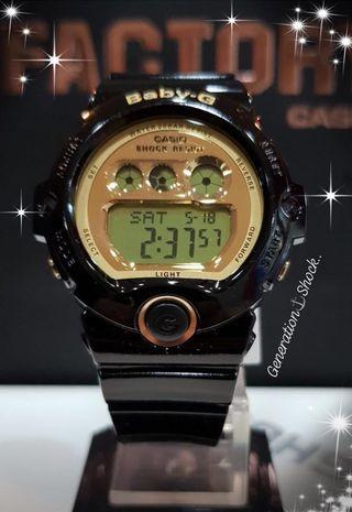 BEST💝SELLING BABY-G : 1-YEAR OFFICIAL WARRANTY : 100% Original Authentic G-SHOCK Resistant : Best For Most Rough Users & Unisex : BG-6901-1DR / BG-6901-1 / BG6901-1 / CASIO / BABYG / GSHOCK / WATCH