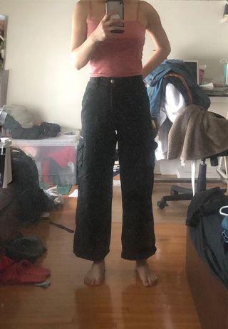 vintage black cargo pants