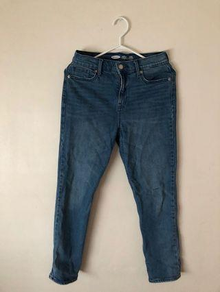 vintage old navy mom straight jeans