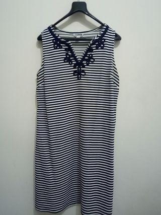 Stripe Dress Salur