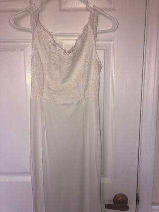 Long White Dress Lacey