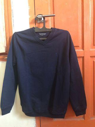 (Preloved) Sweater Biru Donker
