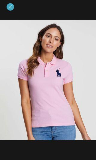 Ralph Lauren Julie Polo Pink XS