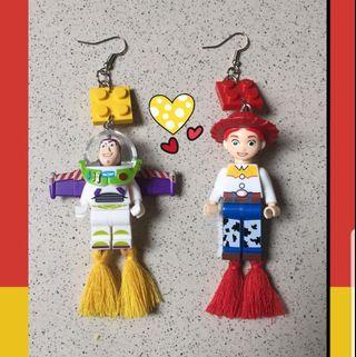 #BAPAU Anting Lego Toy Story