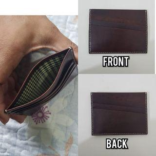 🚚 Leather Card holder - brown
