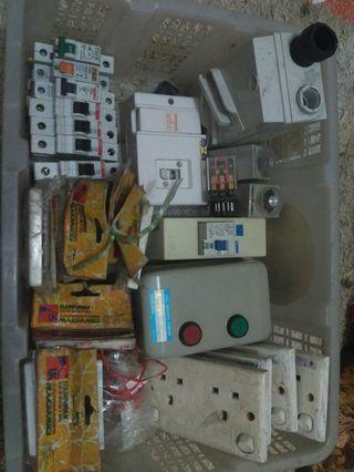 mcb/fuse switch/socket outlet/relay