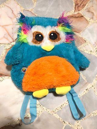 candylicious harajuku blue plush doll bird packpack