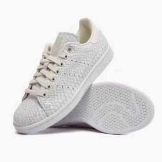 Adidas Stan Smith Sneakers Snake Skin Off White