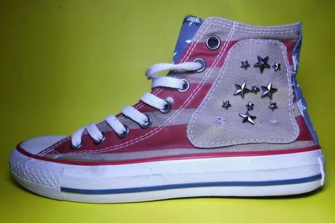 CONVERSE CT HIGH AMERICAN FLAG || SIZE 39