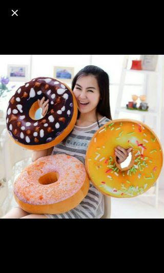 (NO INSTOCKS!)Preorder korean 3D creative doughnut cushion*waiting time 15 days after payment is made* chat to buy to order
