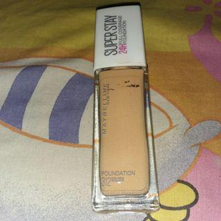 (Reprice) Maybelline Superstay Foundation