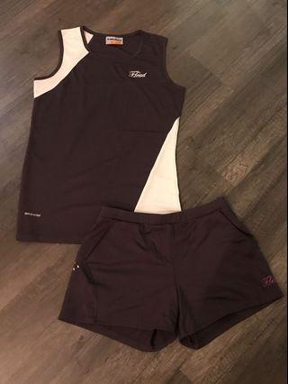 Head Active Top and Shorts Set