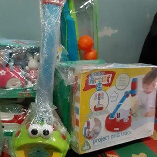 Bubble blower frog elc mothercare