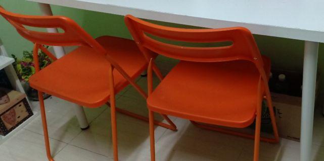 Kerusi ikea Orange color #rayahome