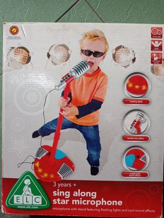 Microphone elc mothercare