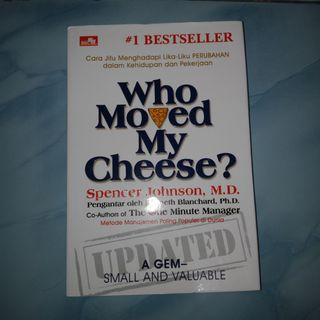 Who moved my cheese update version #bestseller book