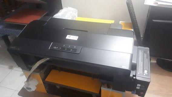 Printer DTG + Mesin Hotpress (1set) #BAPAU