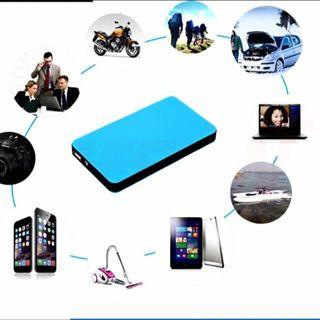 12000mAh 2 in 1 Power Bank with Car Jump Start Backup Battery Charger