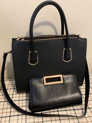 H&M Bag with sling (w free small party bag)