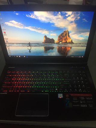msi gaming laptop i7 7th gen gtx 1060 warranty