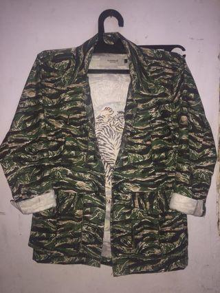 Pursue jacket army camo tiger not w.essential hnm zara