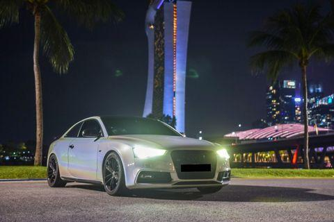 ROARING BEAST AUDI S5 3.0 COUPE [PEARL WHITE]