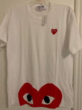 Comme des Garcon Play-save on the tax!
