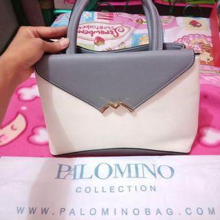 Palomino mahya bag - grey (free gift blush on)