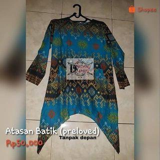 #Mauvivo#Atasan batik (preloved)
