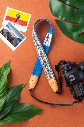 Missbao手創坊 - 阿美族勇士三用背帶 - 相機手機包包皆可