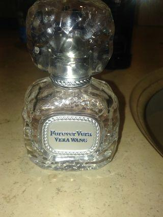 Forever Vera wang 1/8 used clean new bottle perfume