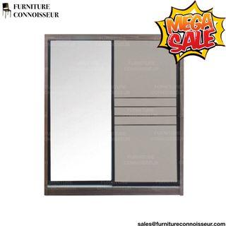 5ft - Sliding Wardrobe with Full Length Mirror
