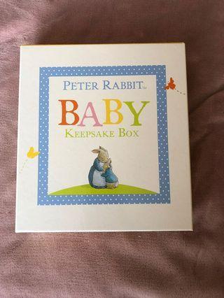 Peter rabbit keepsake box