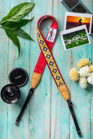 Missbao手創坊 - 撒奇萊雅族平安三用背帶 - 相機手機包包皆可