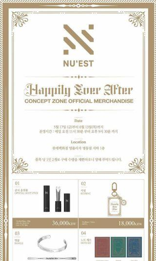 NUEST OFFICIAL MERCHANDISE