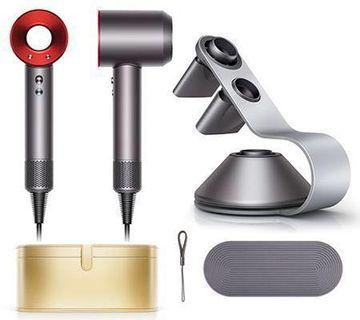 SALE BNIB Dyson Supersonic Hair Dryer RED / Iron LIMITED EDITION LOCAL SET + Display Stand