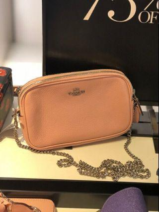 Coach Double Chain Crossbody - Pre-order