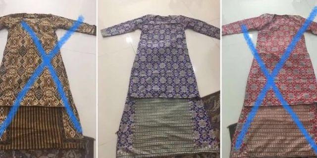 Baju Kurung Moden Batik Sarawak