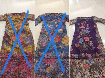 Baju Kurung Moden Batik Terengganu #3