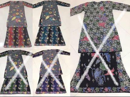Baju Kurung Moden Batik Terengganu #1
