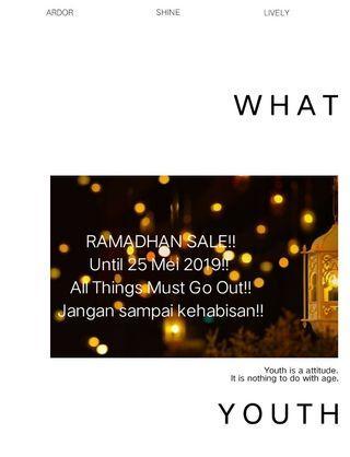 🔴 RAMADHAN SALE, GRAB FAST!!!