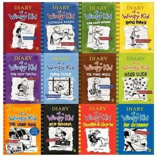 (12 Books) Diary of a Wimpy Kid