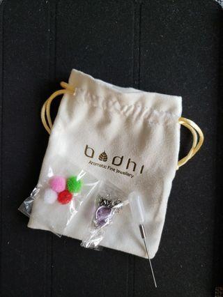Bodhi: 玻璃香薰頸鍊