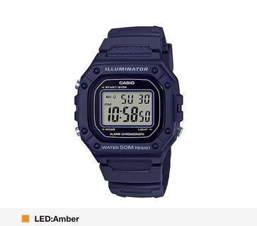 Navy Blue Casio Watch! BN w box!! Instocks!! Unisex