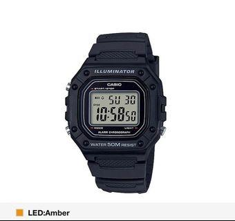 Black Digital Casio Unisex Watch! BN! W box!! Instocks!!