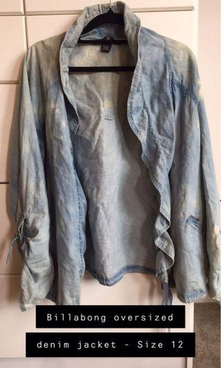 Billabong denim jacket