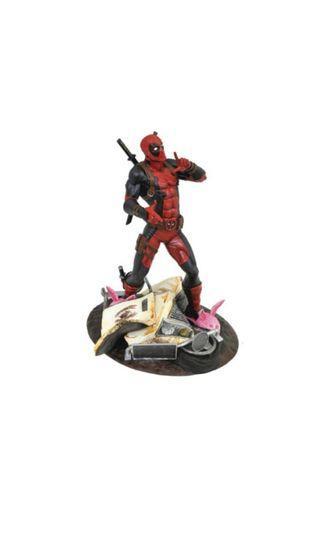 PO: DIAMOND SELECT TOYS Marvel Comic Gallery: Taco Truck Deadpool Diorama PVC Figure