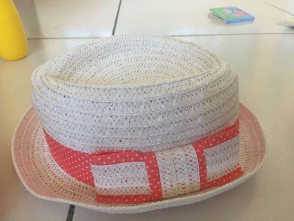 🚚 海灘帽(橘色